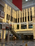 Luminescent Stone Lighting Column for Commercial Building