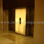 Translucent Artificial Alabaster Stone Wall Decoration for Elevator