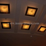 Translucent Stone Ceiling Lighting