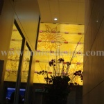 Translucent Stone Wall Decoration