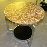 Innice River Pebble Stone chair solid surface