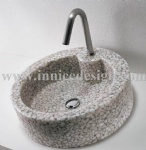 Innice River Pebble Stone Sink and Basins