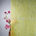 Resin panel with green mini bamboo